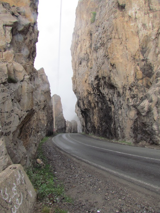 naser ramezani :  chlous road, Alam Kuh or Alum Kooh