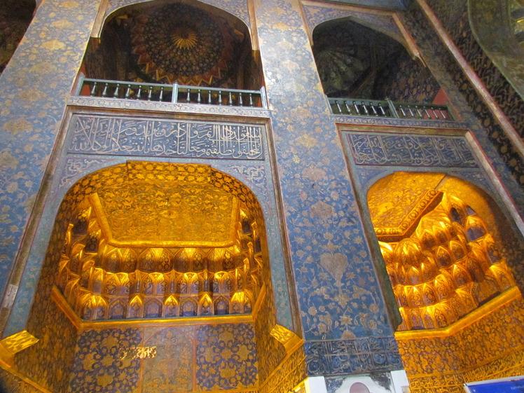 naser ramezani : shah safi shrine in ardebil, سبلان