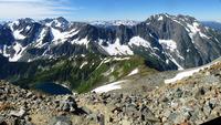 Sahale Arm - From Sahale Glacier Camp photo