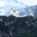 Dachstein from Gosausee, Hoher Dachstein