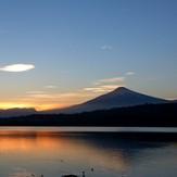 Amaneciendo, Volcan Villarrica
