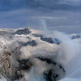 Crater del Villarrica, Volcan Villarrica