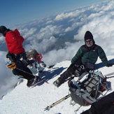 ELBRUS PEAK 5642 m., Mount Elbrus