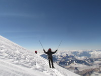 ELBRUS PEAK 5642 m., Mount Elbrus photo