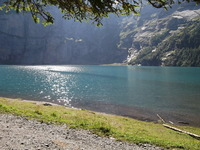 Oeschinensee, Oeschinenhorn photo