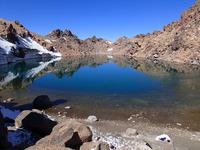 Lake of Sabalan peak photo