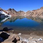 Lake of Sabalan peak, سبلان