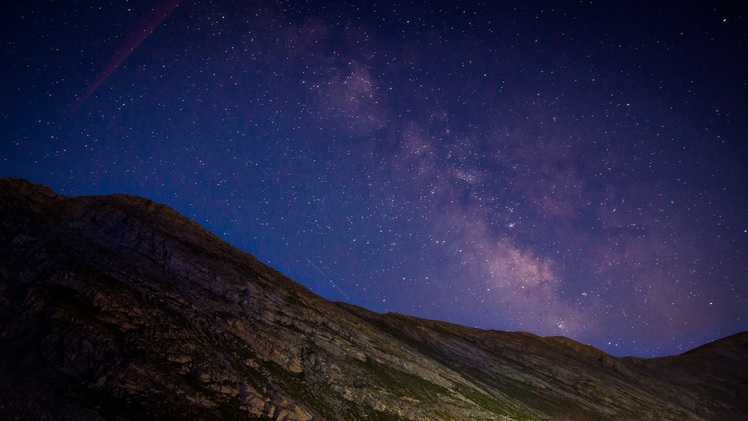 Olympos - Milky Way, Mount Olympus