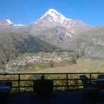 mount kazbeki 5033 m (16.526 ft), Kazbek or Kasbek