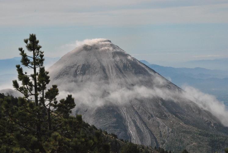 """""""volcan de fuego"""", Nevado de Colima"""