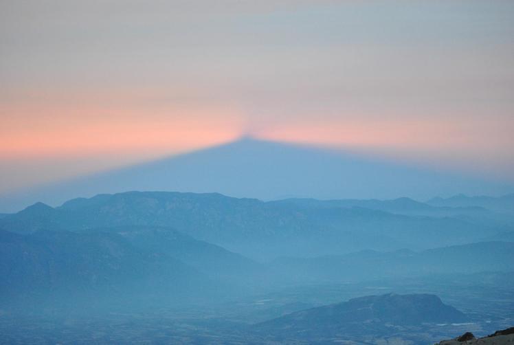 shadow, Nevado de Colima