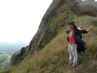 I'm the king of the world, Mount Batulao photo