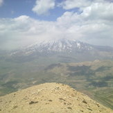 Damavand from Do Brar peak