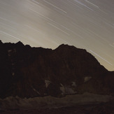 Alam Kooh at Night, Alam Kuh or Alum Kooh