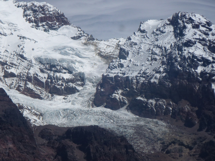 North face of Marmolejo, Feb 2013