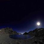Sabalan and Moonlight, سبلان