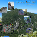 """Marcy East Face """"Ranger on the Rock"""", Mount Marcy"""
