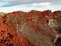 crater-late afternoon, Mount Ngauruhoe photo