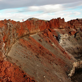 crater-late afternoon, Mount Ngauruhoe