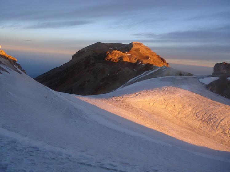 Glaciar del Iztaccihuatl  ( Panza )