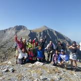 View from Skourta to Olympus peaks, Mount Olympus