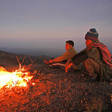 Waiting the sunset, Mount Rinjani