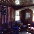 Hunter Mountain fire tower cabin., Hunter Mountain (New York)