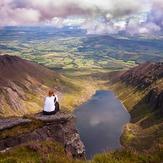 The view over Coumshinaun Lake, Comeragh Mountains