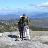 Steve, Carol and Cody, Mount Cardigan