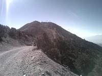 Looking back on way to Potosi Summit, Potosi Mountain photo