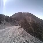 Looking back on way to Potosi Summit, Potosi Mountain