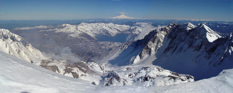 Inside the Crater..., Mount Saint Helens