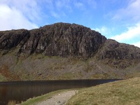 Pavey Ark from Stickle Tarn photo