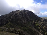 Scafell from Scafell Pike photo