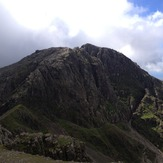 Scafell from Scafell Pike