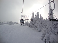 Skrzyczne - chair lift photo