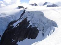 Mt. Alfred. North glacier, Mount Alfred photo