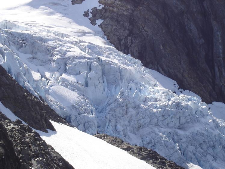 Mt. Alfred. West glacier, Mount Alfred