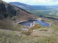 Crotty's Lake, Comeragh Mountains photo