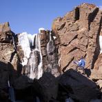 Top of Mahon Falls, Comeragh Mountains