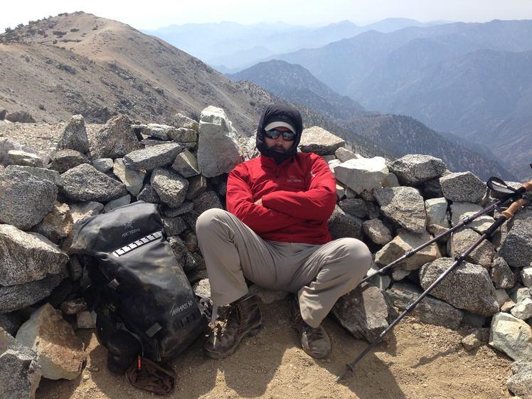 Anthony Fiore - Mount San Antonio - Summit