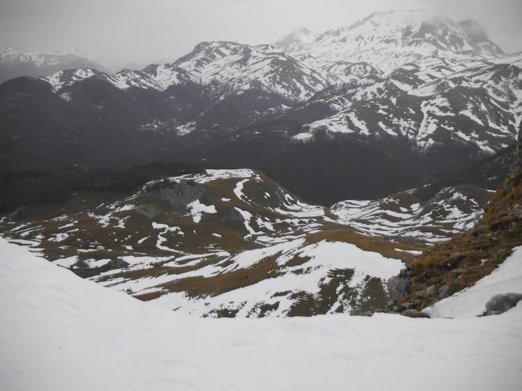 M. Meta visto da M. Forcellone, Monti della Meta
