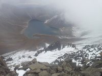 Crater, Nevado de Toluca photo