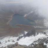 Crater, Nevado de Toluca