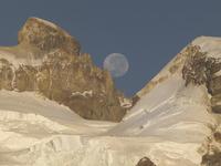Luna Llena en Tronador, Cerro Tronador photo