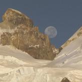 Luna Llena en Tronador, Cerro Tronador