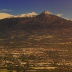 Colima and Snow Mountains, Nevado de Colima
