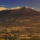 Colima and Snow Mountains, Nevado de Colima