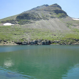 Summit of Çakırgöl Mountain and Lake, Çakirgöl or Cakirgol
