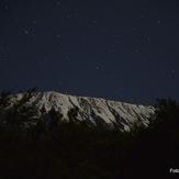 Kilimanjaro by night, Mount Kilimanjaro